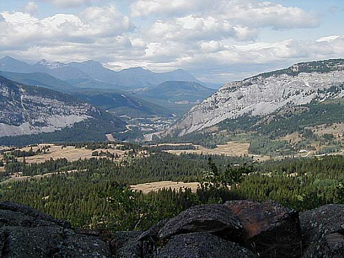 From Crows Nest Pass