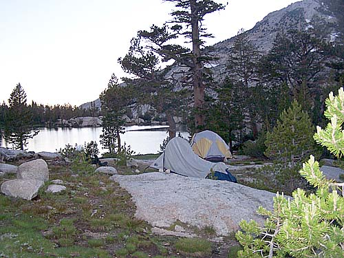 Camp at Lake